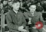Image of testimony and sentencing of Franz Strasser Dachau Germany, 1945, second 26 stock footage video 65675021223