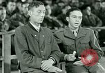 Image of testimony and sentencing of Franz Strasser Dachau Germany, 1945, second 27 stock footage video 65675021223