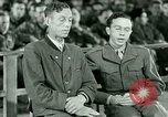 Image of testimony and sentencing of Franz Strasser Dachau Germany, 1945, second 28 stock footage video 65675021223