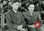Image of testimony and sentencing of Franz Strasser Dachau Germany, 1945, second 29 stock footage video 65675021223