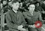 Image of testimony and sentencing of Franz Strasser Dachau Germany, 1945, second 30 stock footage video 65675021223