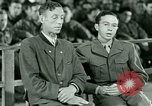 Image of testimony and sentencing of Franz Strasser Dachau Germany, 1945, second 31 stock footage video 65675021223