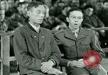 Image of testimony and sentencing of Franz Strasser Dachau Germany, 1945, second 32 stock footage video 65675021223