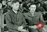 Image of testimony and sentencing of Franz Strasser Dachau Germany, 1945, second 36 stock footage video 65675021223