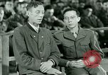 Image of testimony and sentencing of Franz Strasser Dachau Germany, 1945, second 38 stock footage video 65675021223