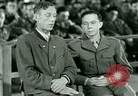 Image of testimony and sentencing of Franz Strasser Dachau Germany, 1945, second 39 stock footage video 65675021223