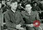 Image of testimony and sentencing of Franz Strasser Dachau Germany, 1945, second 40 stock footage video 65675021223