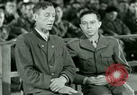 Image of testimony and sentencing of Franz Strasser Dachau Germany, 1945, second 41 stock footage video 65675021223