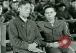 Image of testimony and sentencing of Franz Strasser Dachau Germany, 1945, second 42 stock footage video 65675021223