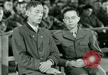 Image of testimony and sentencing of Franz Strasser Dachau Germany, 1945, second 43 stock footage video 65675021223