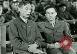 Image of testimony and sentencing of Franz Strasser Dachau Germany, 1945, second 44 stock footage video 65675021223