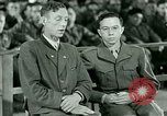 Image of testimony and sentencing of Franz Strasser Dachau Germany, 1945, second 45 stock footage video 65675021223