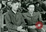 Image of testimony and sentencing of Franz Strasser Dachau Germany, 1945, second 46 stock footage video 65675021223
