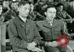 Image of testimony and sentencing of Franz Strasser Dachau Germany, 1945, second 48 stock footage video 65675021223