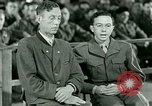 Image of testimony and sentencing of Franz Strasser Dachau Germany, 1945, second 49 stock footage video 65675021223