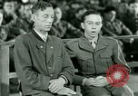 Image of testimony and sentencing of Franz Strasser Dachau Germany, 1945, second 52 stock footage video 65675021223