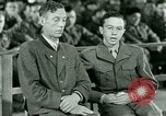 Image of testimony and sentencing of Franz Strasser Dachau Germany, 1945, second 53 stock footage video 65675021223