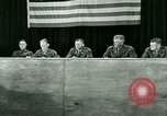 Image of testimony and sentencing of Franz Strasser Dachau Germany, 1945, second 56 stock footage video 65675021223
