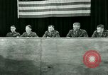 Image of testimony and sentencing of Franz Strasser Dachau Germany, 1945, second 57 stock footage video 65675021223