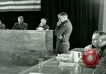 Image of testimony and sentencing of Franz Strasser Dachau Germany, 1945, second 58 stock footage video 65675021223