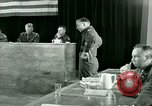 Image of testimony and sentencing of Franz Strasser Dachau Germany, 1945, second 61 stock footage video 65675021223