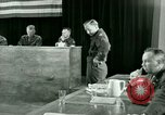 Image of testimony and sentencing of Franz Strasser Dachau Germany, 1945, second 62 stock footage video 65675021223