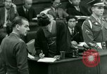 Image of War Crimes Trials Tokyo Japan, 1948, second 14 stock footage video 65675021226