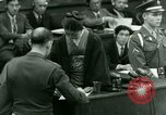 Image of War Crimes Trials Tokyo Japan, 1948, second 26 stock footage video 65675021226