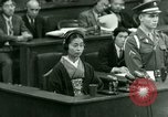 Image of War Crimes Trials Tokyo Japan, 1948, second 38 stock footage video 65675021226