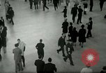 Image of Business rush hour in major city United States USA, 1963, second 6 stock footage video 65675021234