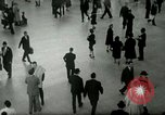 Image of Business rush hour in major city United States USA, 1963, second 7 stock footage video 65675021234