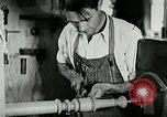 Image of boys make furniture Berea Kentucky United States USA, 1933, second 29 stock footage video 65675021247