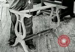 Image of boys make furniture Berea Kentucky United States USA, 1933, second 30 stock footage video 65675021247
