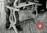 Image of boys make furniture Berea Kentucky United States USA, 1933, second 32 stock footage video 65675021247