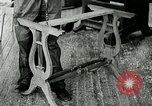 Image of boys make furniture Berea Kentucky United States USA, 1933, second 33 stock footage video 65675021247