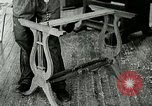 Image of boys make furniture Berea Kentucky United States USA, 1933, second 34 stock footage video 65675021247