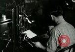 Image of printing press Berea Kentucky United States USA, 1933, second 14 stock footage video 65675021253