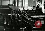 Image of printing press Berea Kentucky United States USA, 1933, second 20 stock footage video 65675021253