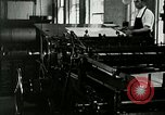 Image of printing press Berea Kentucky United States USA, 1933, second 23 stock footage video 65675021253