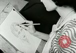 Image of Art Classes Berea Kentucky United States USA, 1933, second 22 stock footage video 65675021263