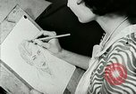 Image of Art Classes Berea Kentucky United States USA, 1933, second 23 stock footage video 65675021263