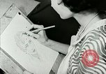 Image of Art Classes Berea Kentucky United States USA, 1933, second 24 stock footage video 65675021263