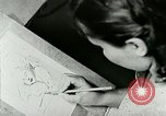 Image of Art Classes Berea Kentucky United States USA, 1933, second 28 stock footage video 65675021263