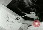 Image of Art Classes Berea Kentucky United States USA, 1933, second 30 stock footage video 65675021263