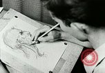 Image of Art Classes Berea Kentucky United States USA, 1933, second 32 stock footage video 65675021263