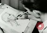 Image of Art Classes Berea Kentucky United States USA, 1933, second 34 stock footage video 65675021263