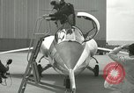 Image of F-104A Starfighter California United States USA, 1956, second 58 stock footage video 65675021300