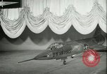 Image of F-104A Starfighter California United States USA, 1956, second 33 stock footage video 65675021303