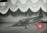 Image of F-104A Starfighter California United States USA, 1956, second 34 stock footage video 65675021303