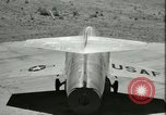 Image of F-104A Starfighter California United States USA, 1956, second 33 stock footage video 65675021306